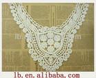 2013 popular fashion hot design colorful decorative lace design clothes neck crochet cotton collar design embroidery lace
