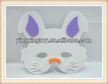 hot sell party toy eva rabbit animal kids cartoon masks