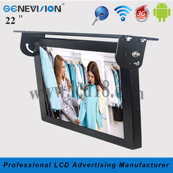 "Smart 22"" 22 inch full hd 1080P bus andriod LCD Advertising multimedia for bus/Taxi used(MBUS-220A)"