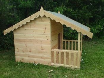 Large Dog Kennel with Veranda / Handmade Wholesale Dog House