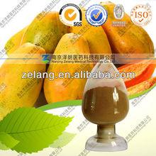 Papain, Papaya extract powder, papain enzyme, 50,000 u/g to 3,500,000 u/g