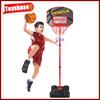 Mini plastic basketball game set