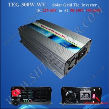 300W 220v 50hz 110v 60hz converter for on grid tie solar system