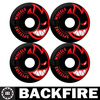 Backfire skateboard bearinged free wheels Professional Leading Manufacturer