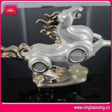 3D Metal Ancient Horse Sculpture