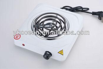 electric burner singer hotplate stove (H-001L)1000W