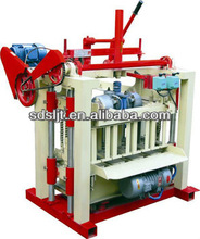 Small concrete block machine QMJ4-40 interlocking paver brick making machine
