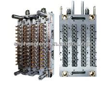 PET preform Mould with 48 cavity hot runner valve gate PCO28mm neck preform