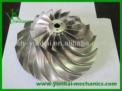Stainless steel blower impeller, high precision blower impeller wheel, blower impeller