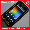 5 Inch Gorilla IPS Touch Screen Waterproof Smartphone
