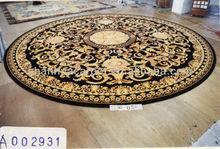 fashional 100% wool round rugs