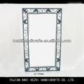 Ferro forjado única moldura de espelho