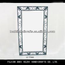 unique wrought iron mirror frame