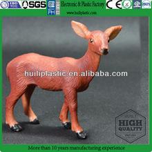 Plastic deer figure animal miniature animal figure toys
