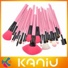 2013 high quality 24 pcs professional makeup brush sets