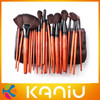 2013 high quality 24 pcs professional cosmetic brush sets