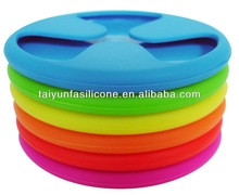 silicon rubber wine glass coaster for party