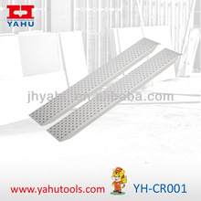 Light-weighted aluminium pet step ramps