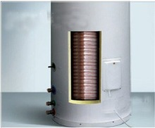 hot sale color plate split pressure solar water heater tank