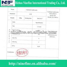 carbon additive/calcined anthrciate coal price