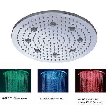 Hotel Large Top Shower LED Overhead Shower Manufacturer