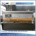 Qc12y- 6x4000 battente idraulico lamiera in acciaio tosatura delle pecore macchina