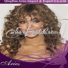 Hot Beauty,Beyonce Wavy, Malaysian Human Hair Full Lace Wigs