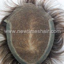 lace base short hair wig men