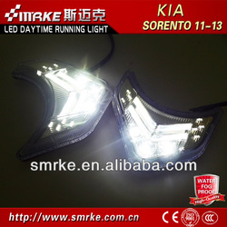 Hot Sale and good quality LED Daytime Running Light for kia sorento 11'-13 LED DRL fog lamp