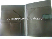 Fancy leather cover pocket notebook,refillable leather notebook