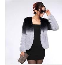 2013 rex rabbit hair fur coat short design women's rex rabbit knitted outerwear autumn and winter fur