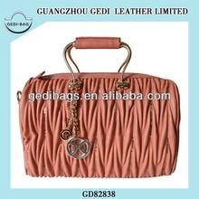 Italian Blouse Wrinkle Crapy Design Purse Fabrica Barato Bolso Borsa Bolsas Woman Handbag