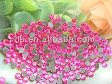 high quality colored hot fix dmc crystals custom design