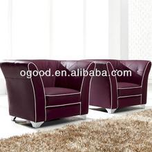 2013 Milano vintage leather sofa design OS6902