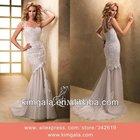 Best Selling One-Shoulder Lace Mermaid Wedding Dresses