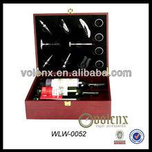 Shenzhen wood wine case for 3 bottle