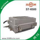 Outdoor 10-50KM long range microwave analog fm wireless audio video transponder