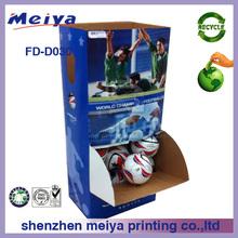 Cardboard Display box,Floor Display Paper Display,Dump Bin display stand ,Pop Display,Corrugated Paper Display for basketball