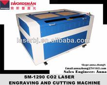 High cutting precision 80w co2 laser cnc paper cutter (precise)
