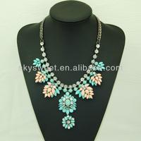 Fashion Jewelry Distributors Wholesale Lotus Flower Pendant Necklace (SWTN805-6)