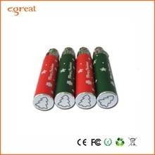 e cig kits Christmas 650mah battery and ce4 clearomizers ego-t electronic cigarette the russian
