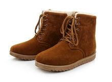 Fashion warm men rubber snow boots