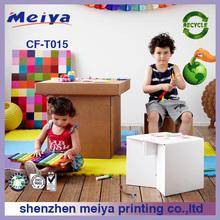 2013 Meiya cardboard bench, paper steel for children, living room furniture cardboard chairs and desk