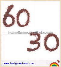 Marble and Stone Restoration 30 60 mesh garnet for depth filter