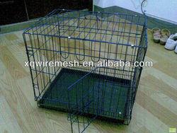 Indoor wire mesh dog kennel