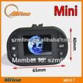 Mini 1080p/25fps 2 canais de carro dvr 3g wi-fi e gps, 12 ir luzes, 1.5 polegadas tela lcd, gsensor