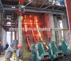 steel billet continuous casting machine line