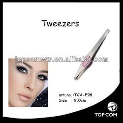 custom pink tweezers