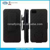Combo holster case with viewing stand for iphone 5
