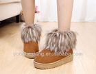 Waterproof sheepskin boots